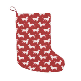 Have a Happy Dachshund Christmas Small Christmas Stocking