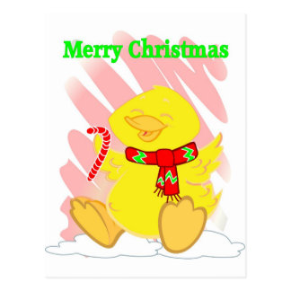 Have a Happy Duck Merry Christmas Post Card