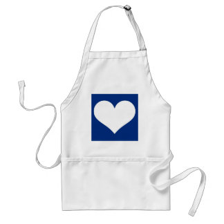 Have A Heart (Blue/White) Standard Apron