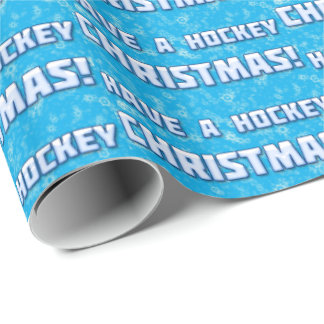 Have A Hockey Christmas Gift Wrapping Paper