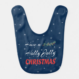 Have a Holly Jolly Christmas Bib