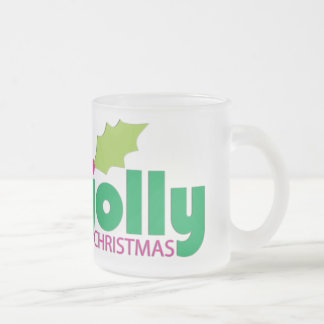 Have a Holly Jolly Christmas Frosted Mug