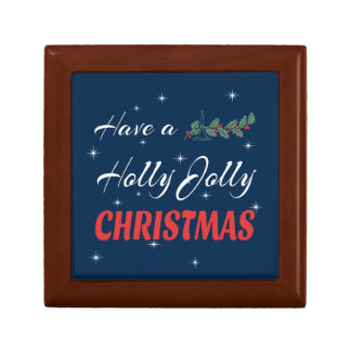 Have a Holly Jolly Christmas Gift Box