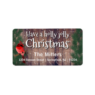Have a Holly Jolly Christmas - Holidayzfordayz Label
