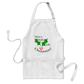 Have a Holly Jolly Christmas! Standard Apron