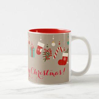 Have a Holly Jolly Christmas Two-Tone Mug