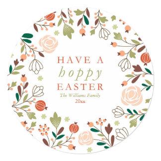 Have a Hoppy Easter 13 Cm X 13 Cm Square Invitation Card