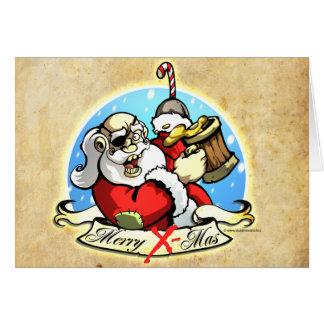 Have a Jolly Roger Christmas ! Card