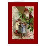 Have a joyful Christmas - Vintage Santa Card