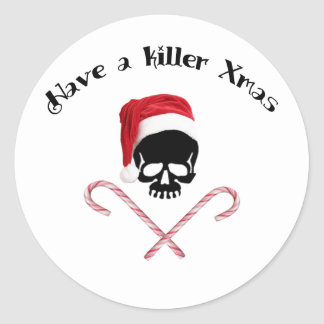 Have a killer Christmas Stickers
