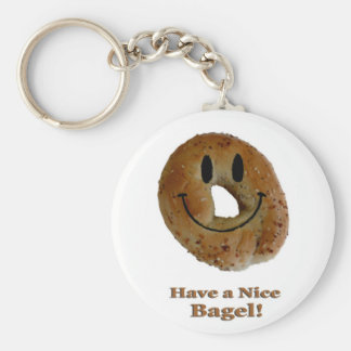 Have a Nice Bagel! Key Ring