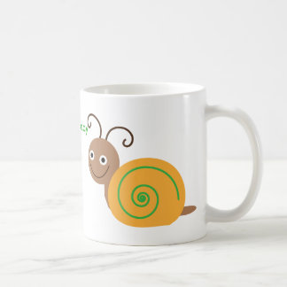 Have a nice day brian the snail fun mug, gift coffee mug