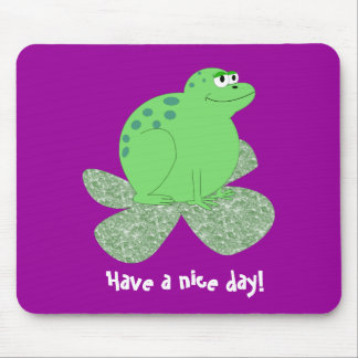 Have a nice day! mouse mat