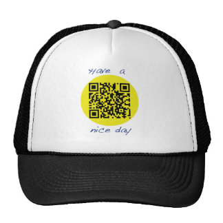 Have a Nice [QR] Day Cap