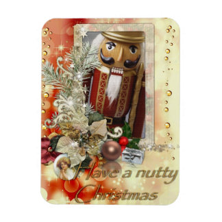 Have a nutty Christmas Premium Magnet