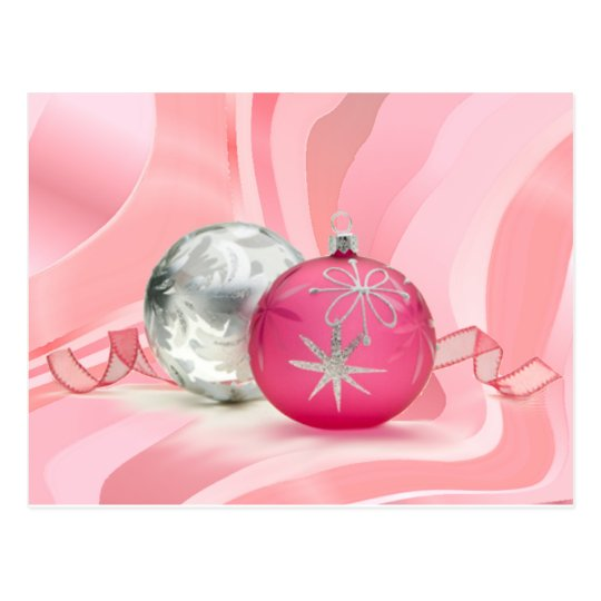 HAVE A PINK PINK CHRISTMAS by SHARON SHARPE Postcard