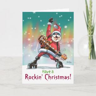 Rockin Christmas Cards | Zazzle UK