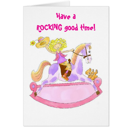 Have a rocking good time card