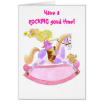 Have a rocking good time greeting card