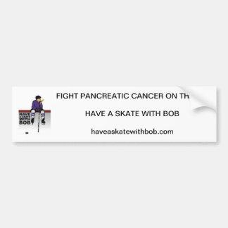 Have A Skate With Bob Bumper Sticker