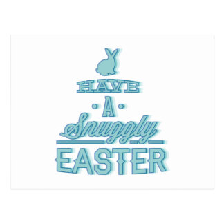 Have A Snuggly Easter Postcard