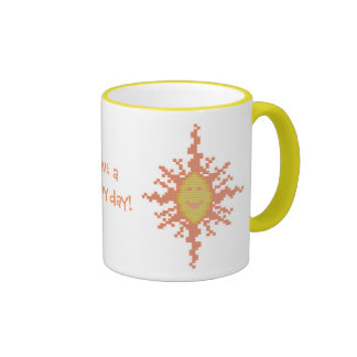 Have a sunny day! Sunburst Mug