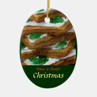 Have a Sweet Christmas -Tree Ornament