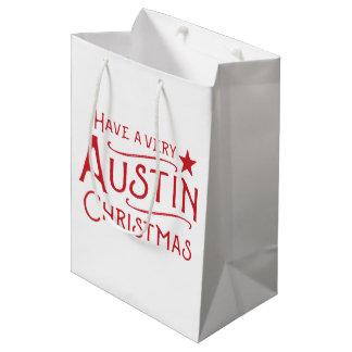 Have a Very Austin Christmas Texas Gift Bag
