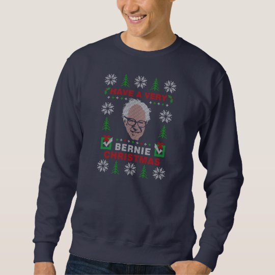 Have a Very Bernie Sanders Ugly Christmas Sweater