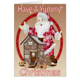 Have a Yummy Christmas Greeting Card
