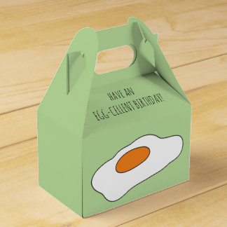 Have an EGG- CELLENT BIRTHDAY! Funny Favour Box