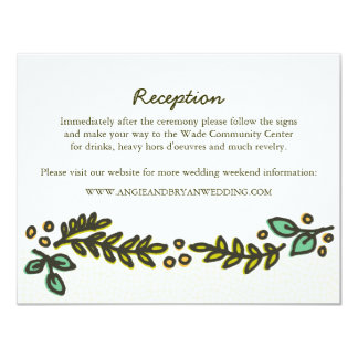 Have and Hold Rustic Wedding Invitation Extra Card