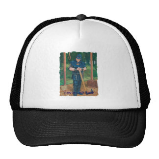 Have axe, will travel! trucker hat