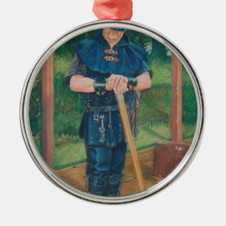Have axe, will travel! christmas ornament