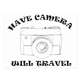 Have Camera Will Travel Postcards
