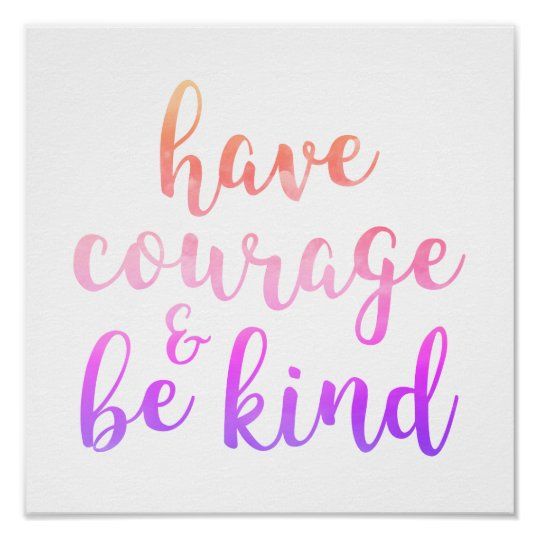 Have Courage & Be Kind Kids' Room Decor