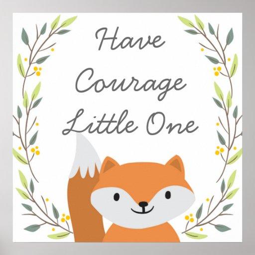 Have Courage - Nursery Decor
