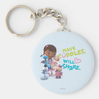 Have Cuddles Will Share Key Ring