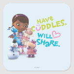Have Cuddles Will Share Stickers