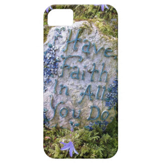 Have Faith in All You Do Inspirational Words Photo iPhone 5 Case