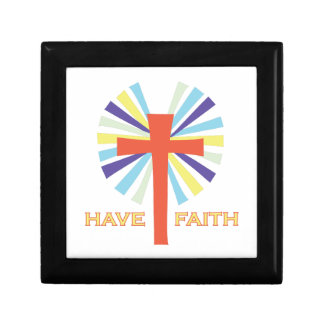 Have Faith Small Square Gift Box