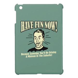 Have Fun Now: Driving Minivan Suburbs iPad Mini Cover