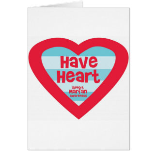 Have Heart Marfan Awareness Greeting Card