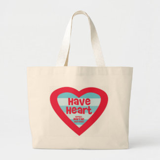 Have Heart Marfan Awareness Large Tote Bag