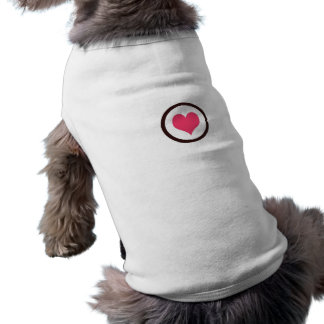 Have Heart Sleeveless Dog Shirt