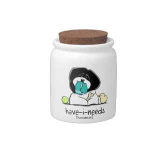 Have-i-Needs Havanese Off-Leash Art™ Candy Jar