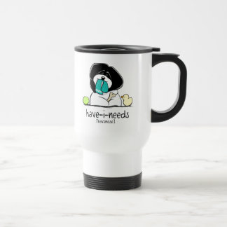 Have-i-Needs Havanese Off-Leash Art™ Travel Mug