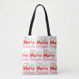 Have Merry Christmas Holiday Tote Bag