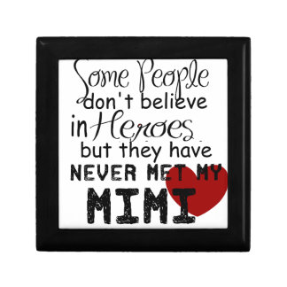 Have never met my mimi small square gift box
