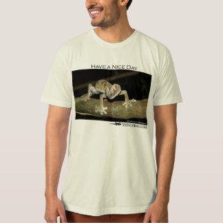 Have nice a day - gecko t-shirt